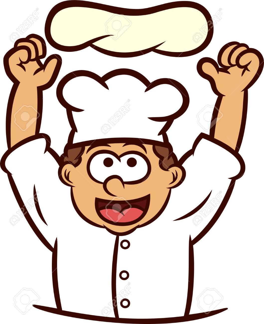 pizza chef tossing dough into the air cartoon illustration royalty rh 123rf com Blank Pizza Clip Art Pizza Sauce Clip Art
