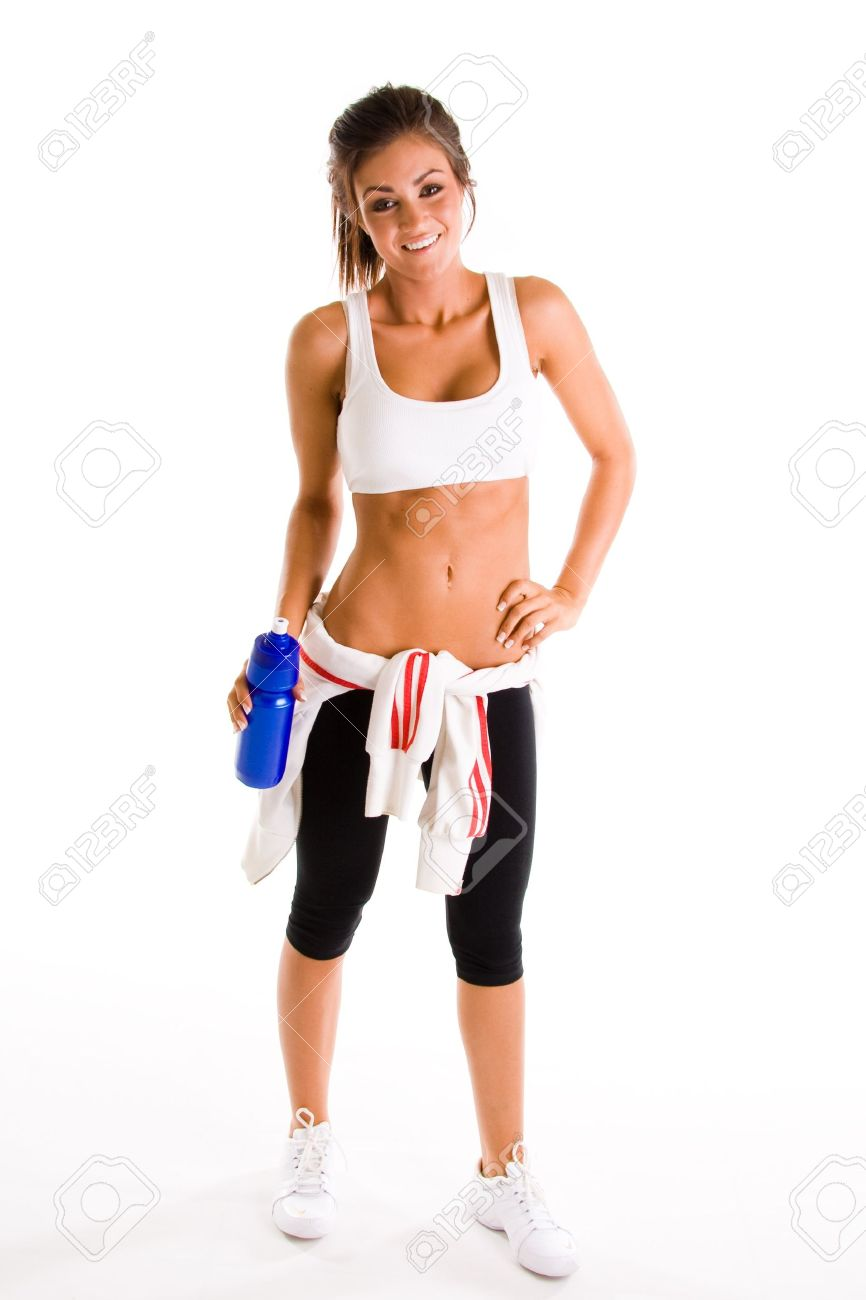 beauiful girl working out Stock Photo - 4427655