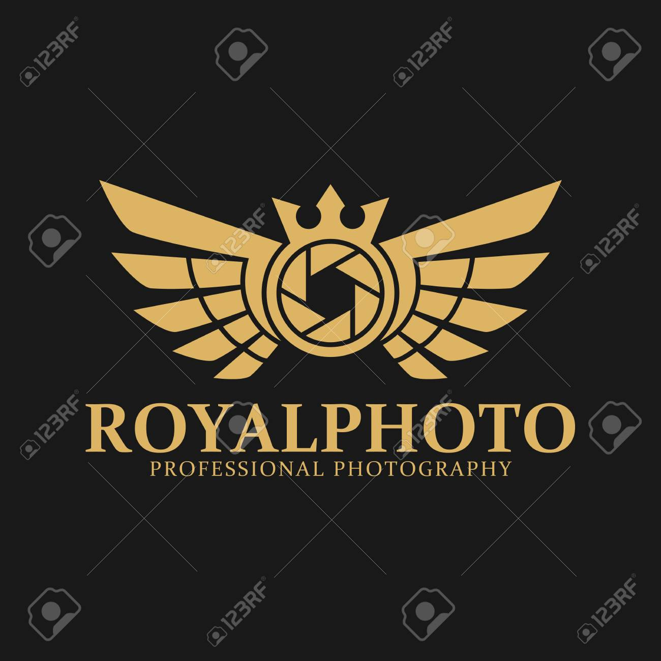 Logo stylish for photography