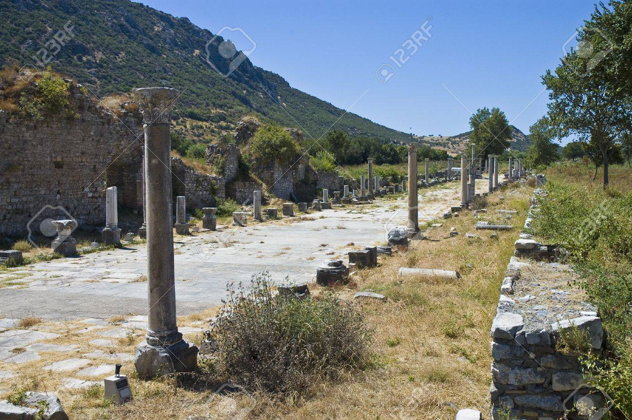 Archaeological ruins of Efes, Turkey Stock Photo - 6942704