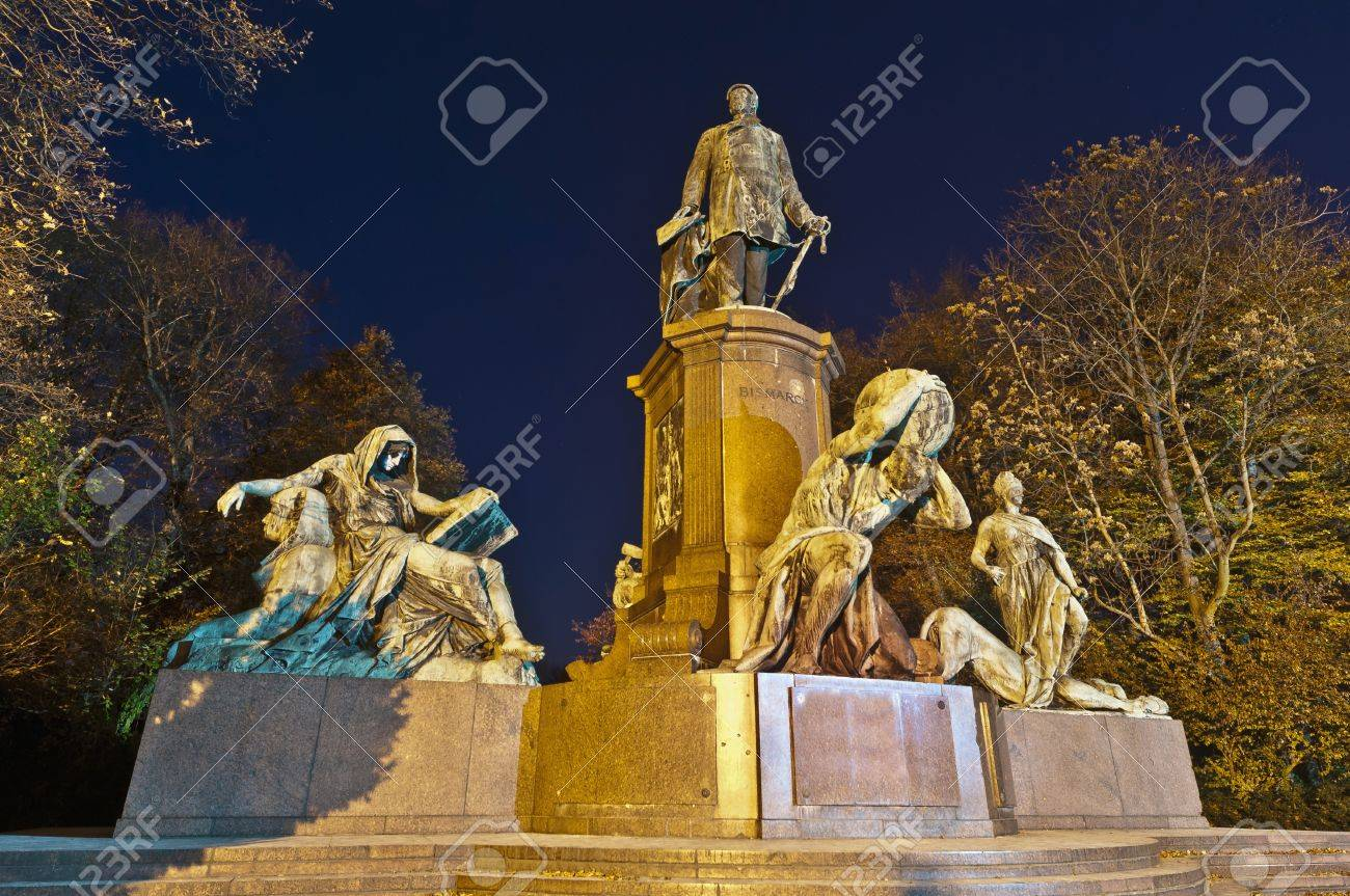Statue of Otto von Bismarck, a statesman considered the founder of modern German state at Berlin, Germany Stock Photo - 13244640