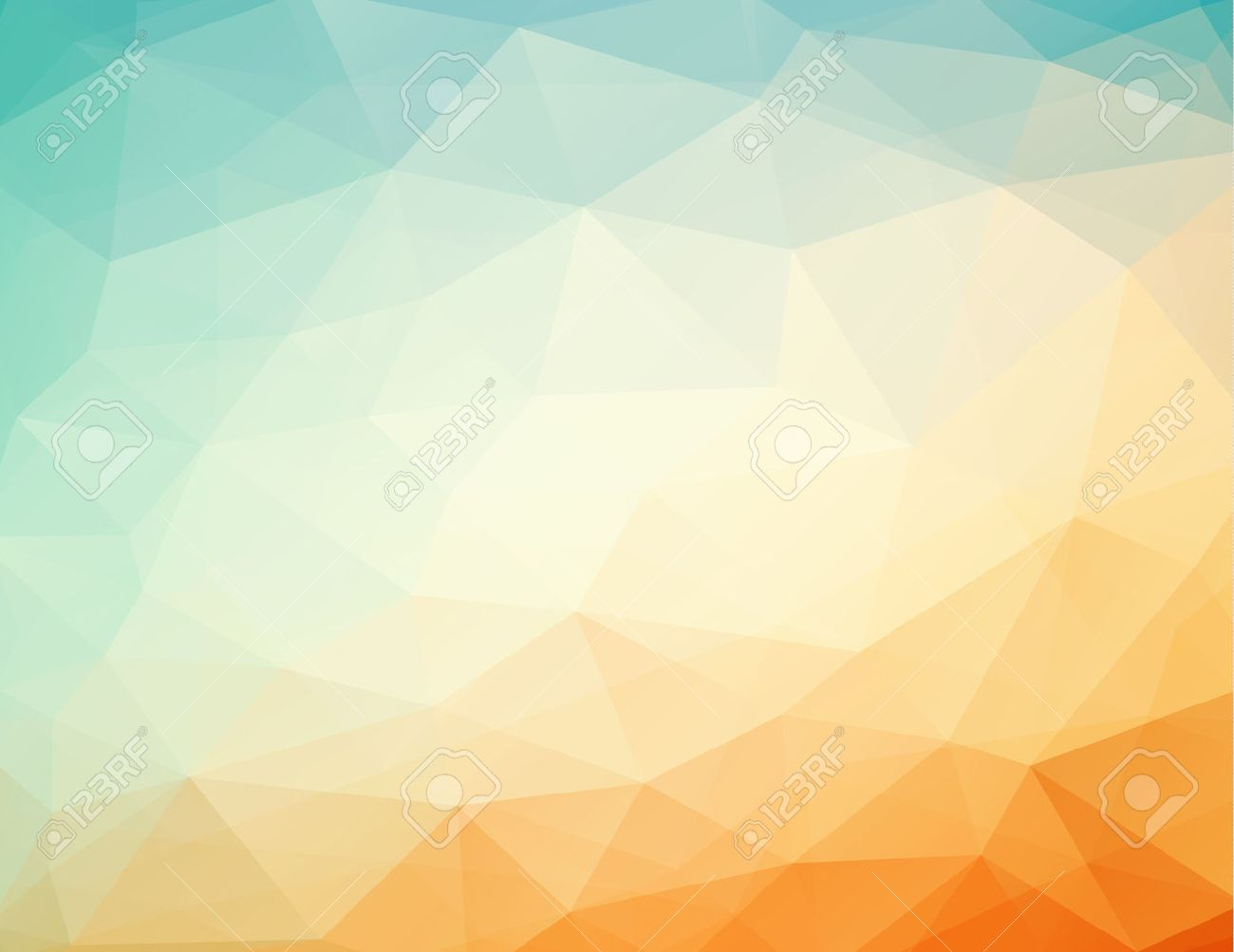 Abstract geometric orange blue background with triangles vector abstract geometric orange blue background with triangles vector illustration eps 10 with transparency altavistaventures Images