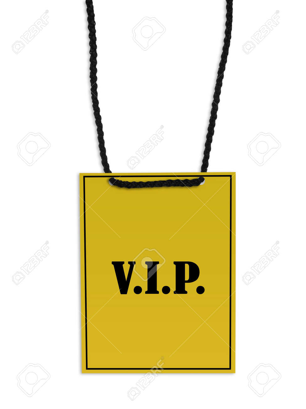 Vip Access Pass Vip Back Stage Pass on White