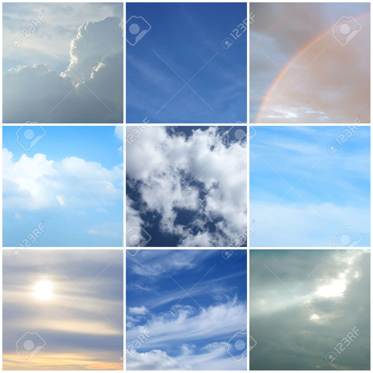 Superb Different Moods Of The Sky Different Weather And Time Of The Day Stock  Photo   12844370 Good Looking