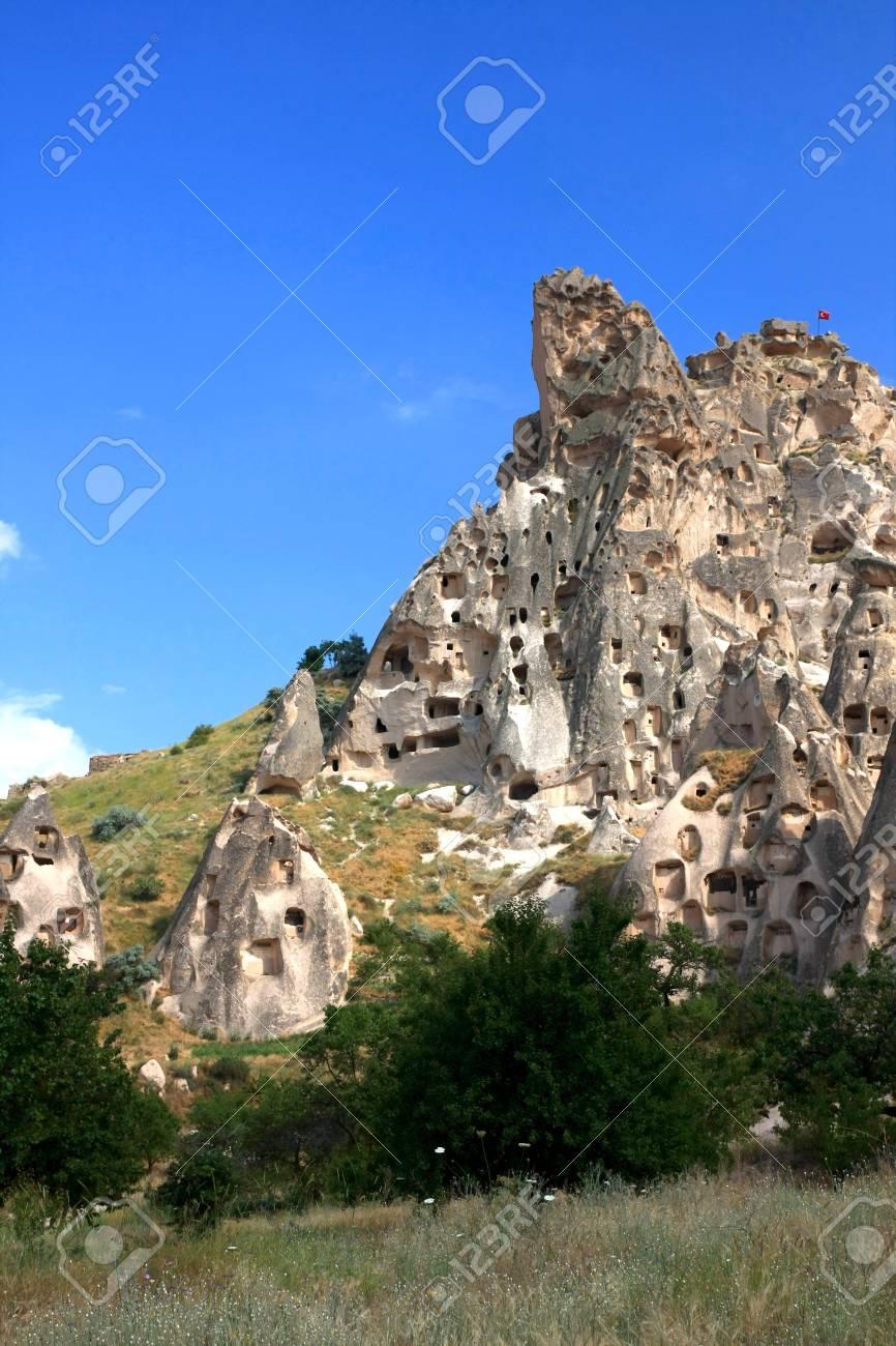 Cappadocia - Turkey, Uchisar Stock Photo - 15284868