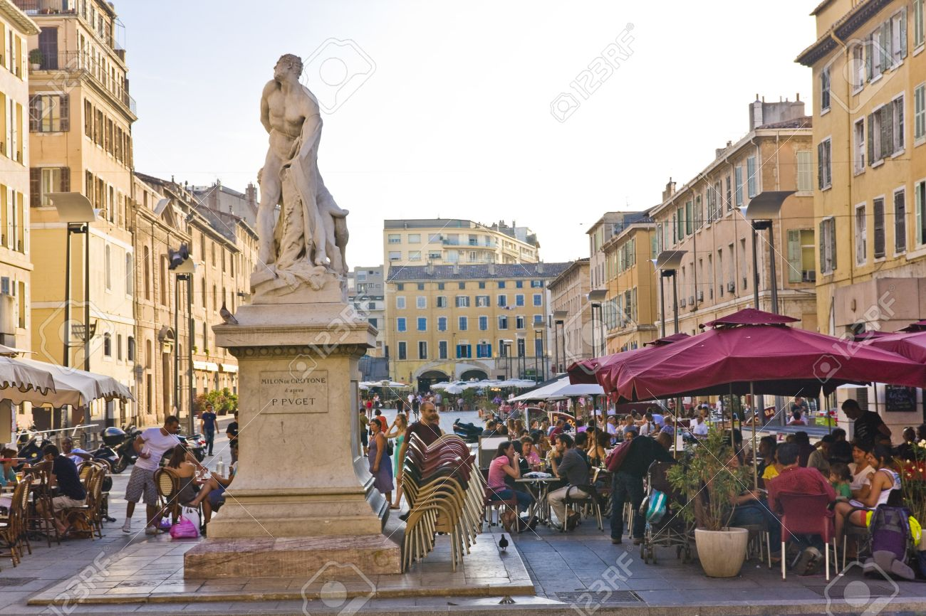 the city centre in marseille france stock photo picture and