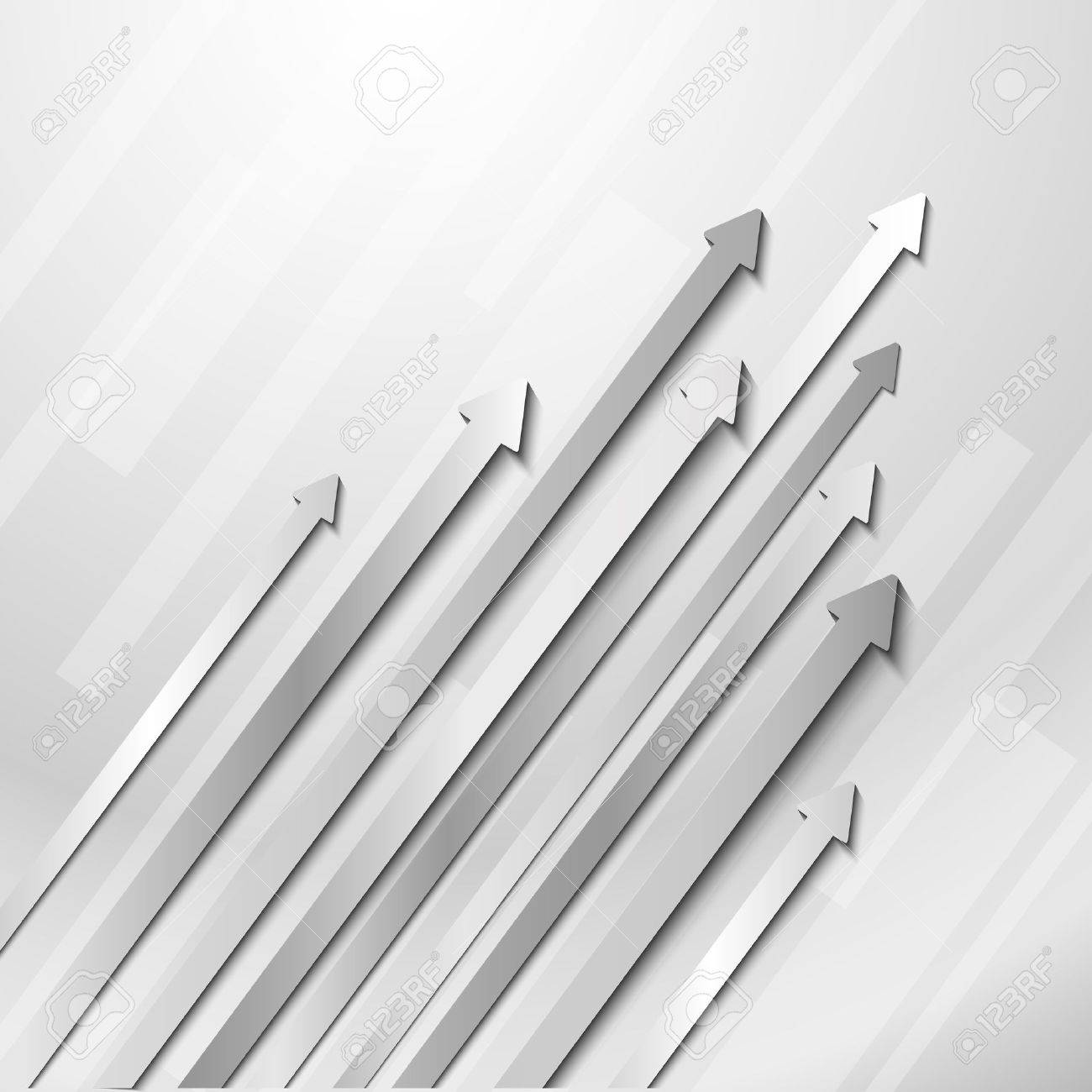 Background image grayscale - Abstract Business Background With Grayscale Arrows Stock Vector 19094285