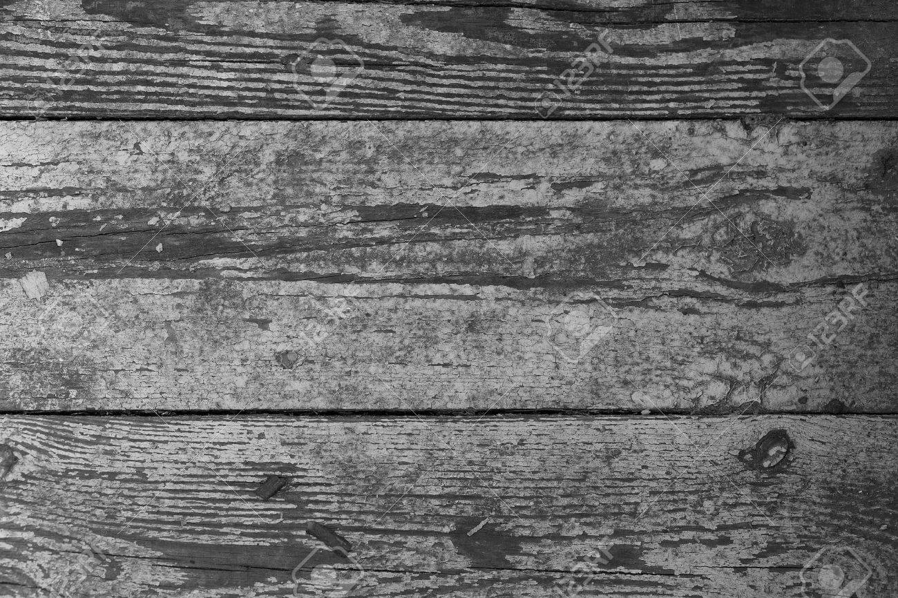 Old wooden boards as background - Old Wooden Boards With Chipped Paint Background Stock Photo 40228864