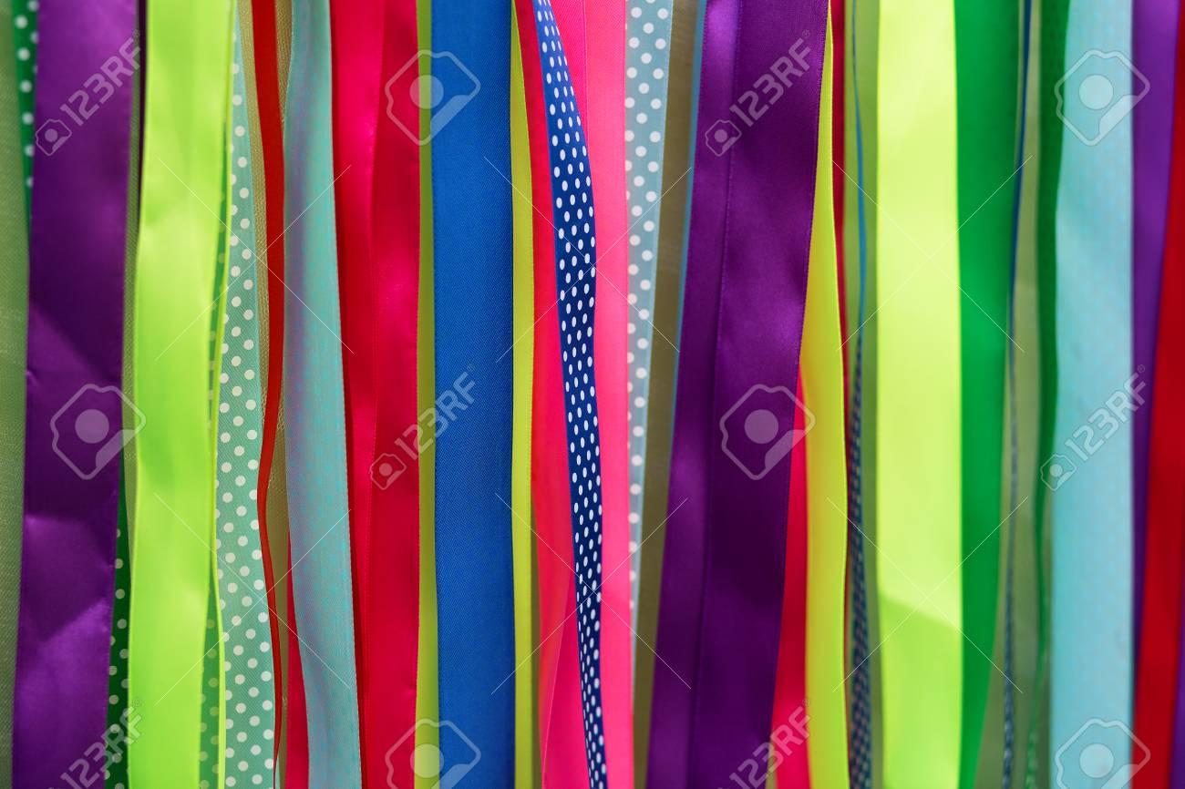 Cintas De Colores Decoración De Fiestas Textura De Fondo Abstracto Fotos Retratos Imágenes Y Fotografía De Archivo Libres De Derecho Image 40848372