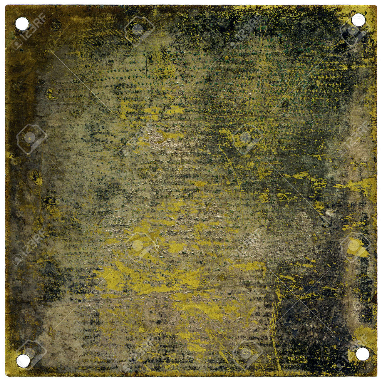 Rustic metal plate with copy space - grainy surface Stock Photo - 10524134