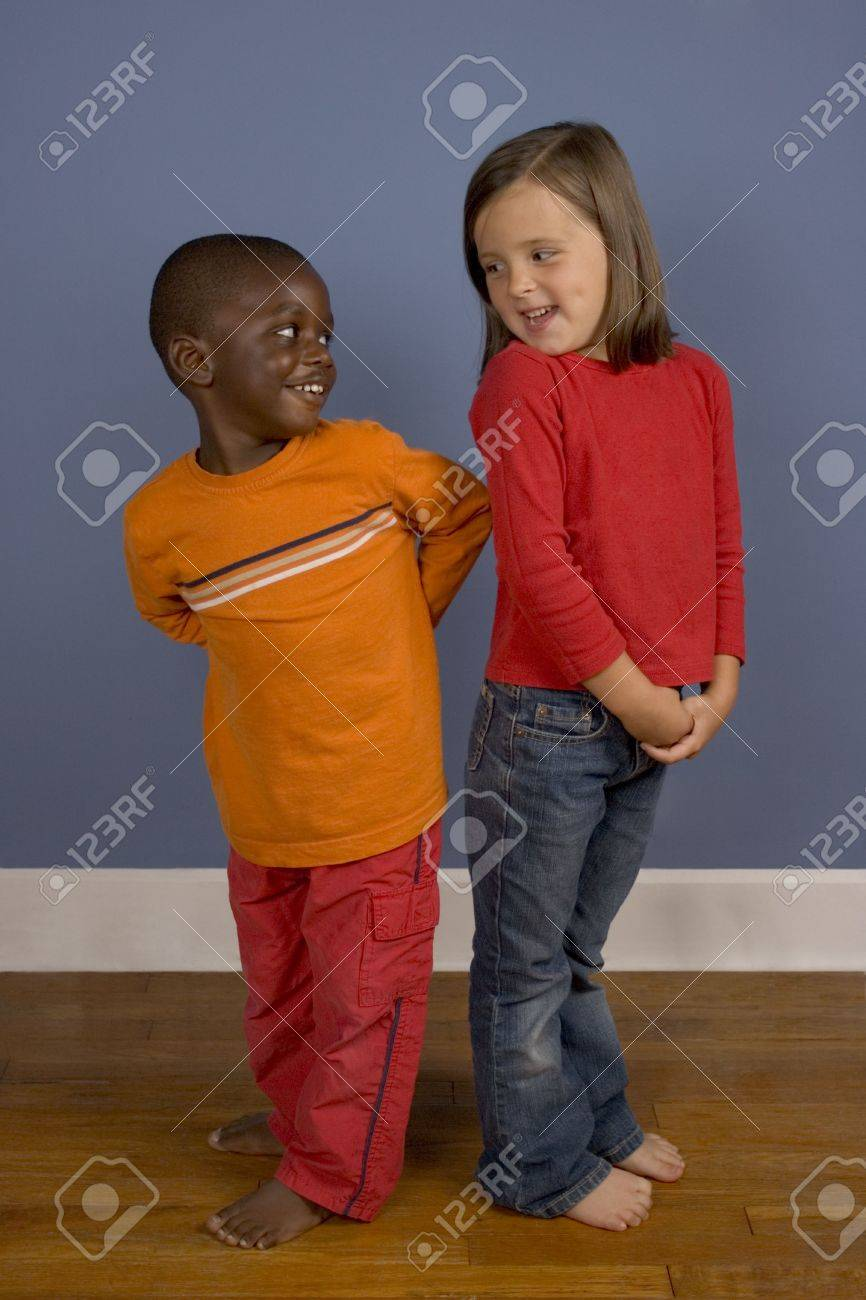 A series of images showing children of Diverse backgrounds. Stock Photo - 560796