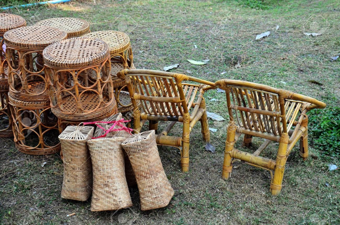 Local Tienda De Muebles De Bamb En Tres Pagodas O Dan Chedi Sam  # Muebles Debambu