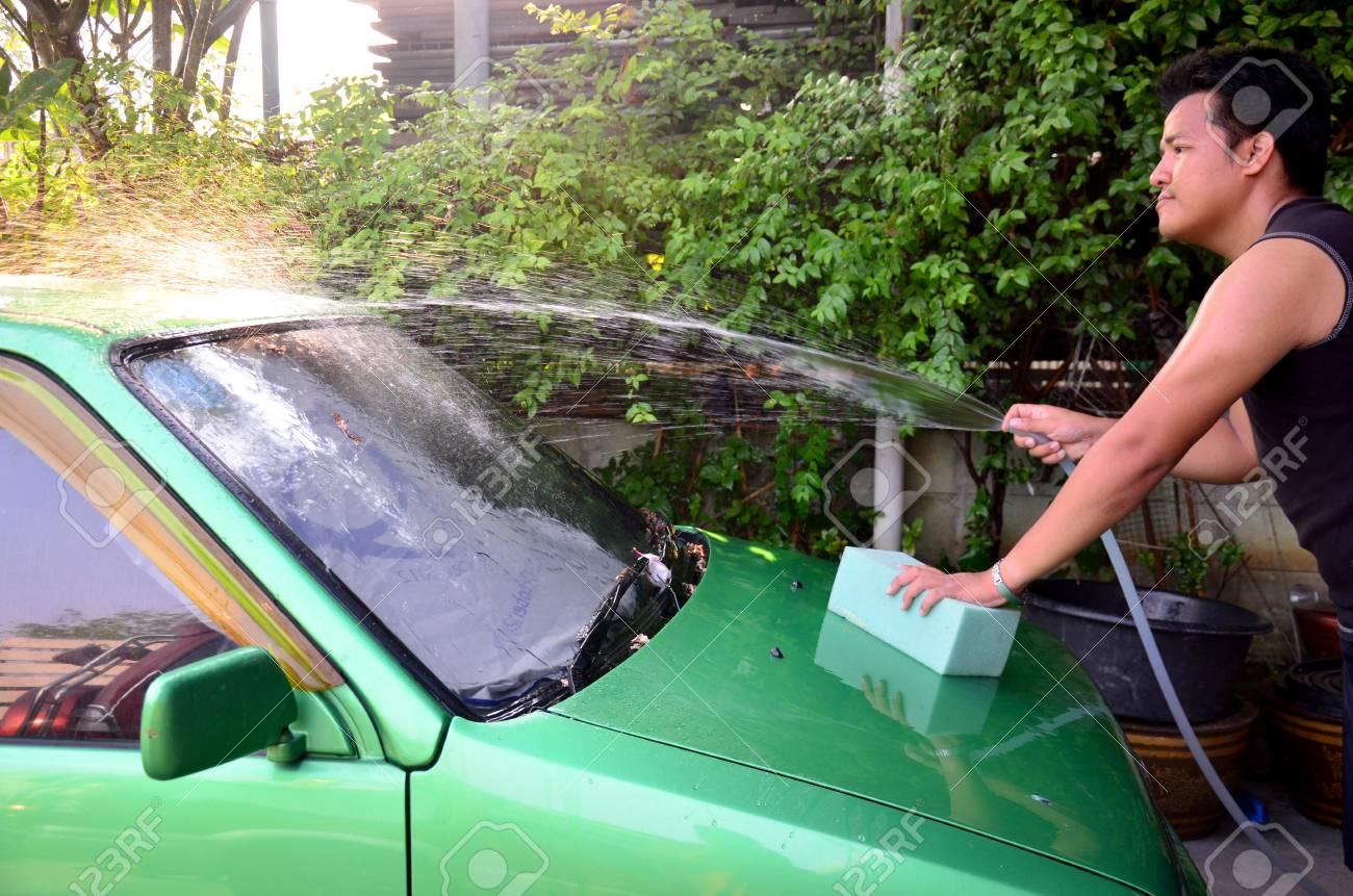 auto waschen zuhause