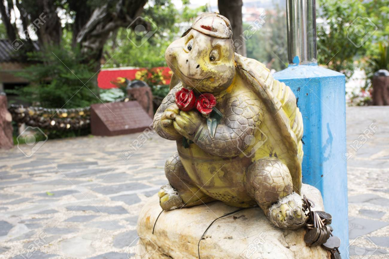 Tortoise Or Turtle Statue For Chinese People And Foreigner