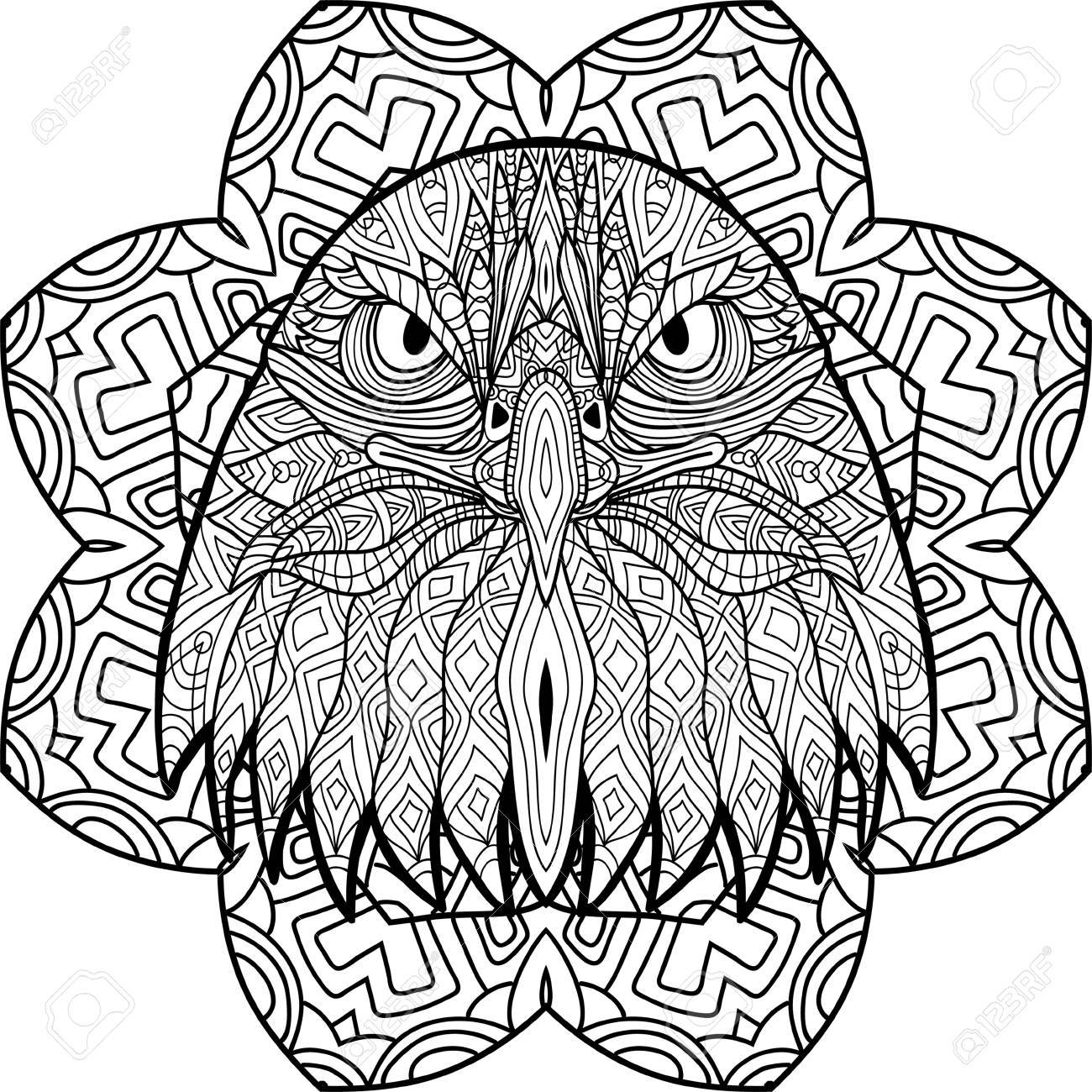 11 Quick Tips Regarding Eagle Mandala Coloring Pages | Mandala ... | 1300x1300