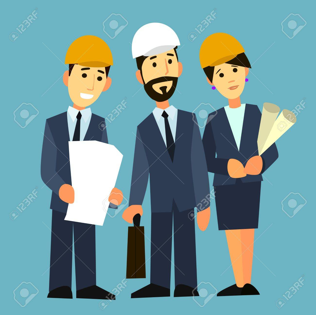 Business people group on meeting and presentation with construction business people group on meeting and presentation with construction engineer architect looking building model and malvernweather Images