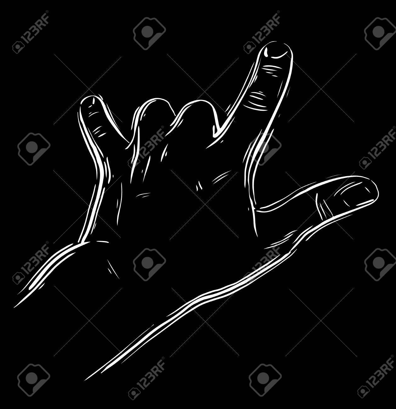 Fabulous Rock An Hand Zeichen, Rock N Roll, Hard Rock, Heavy Metal, Musik  RF41