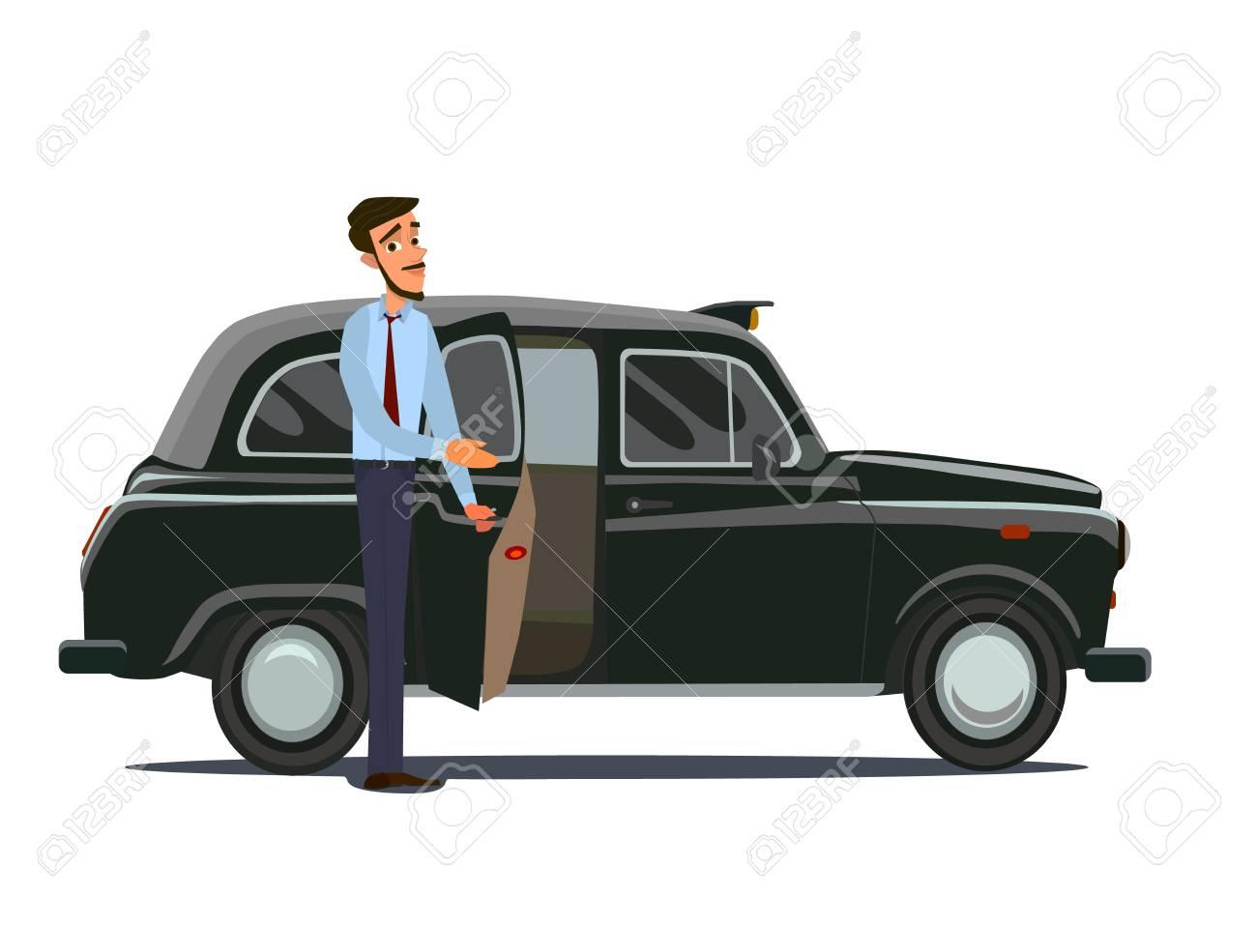 Taxi driver concept  Car, transport, transportation, transfer