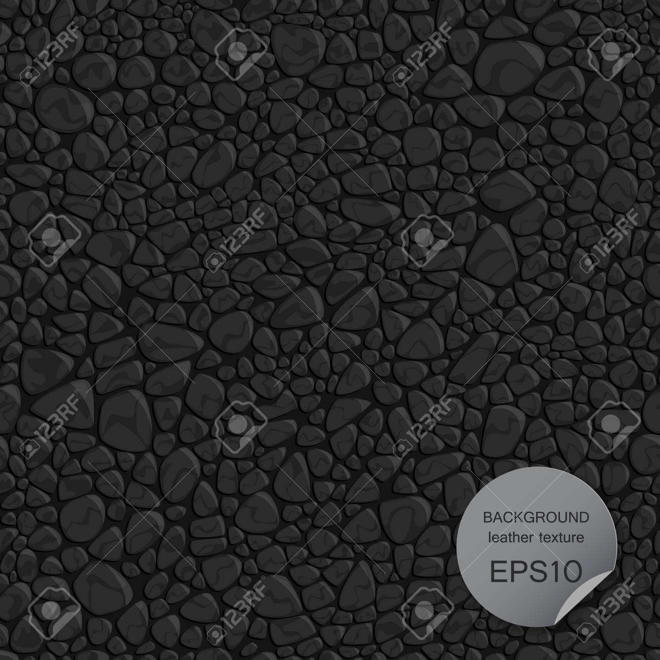 Seamless background leather texture. Vector illustration EPS10. - 67632915