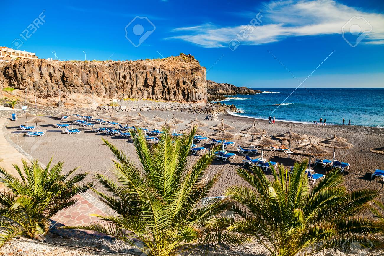 Beach In A Small Village Callao Salvaje In Tenerife Canary Islands Stock Photo Picture And Royalty Free Image Image 69656169