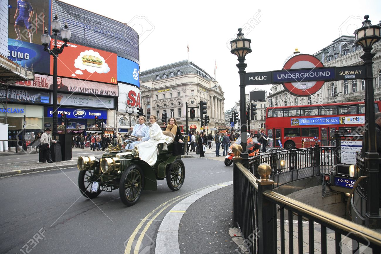 London, UK - November 06, 2010: London To Brighton Veteran Car ...