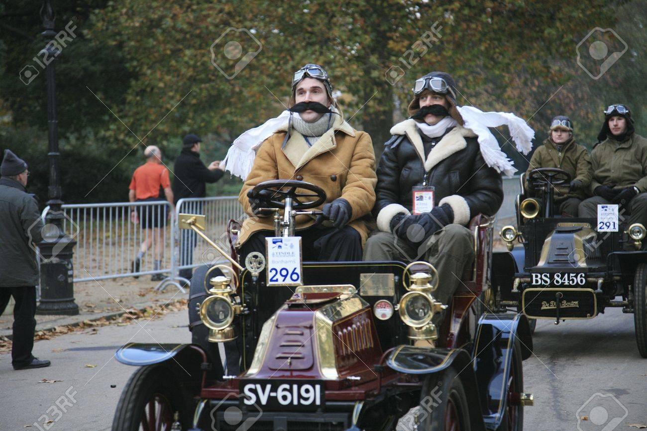 London, UK - November 07, 2010: London To Brighton Veteran Car ...