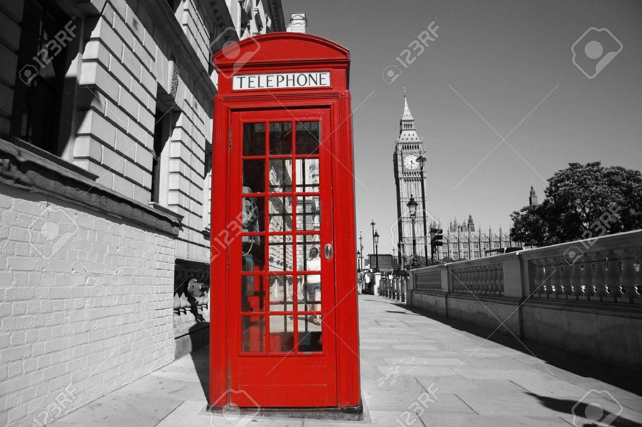 Foto Cabina Telefonica Di Londra : Cabina telefonica rossa è uno dei più famosi delle icone di londra