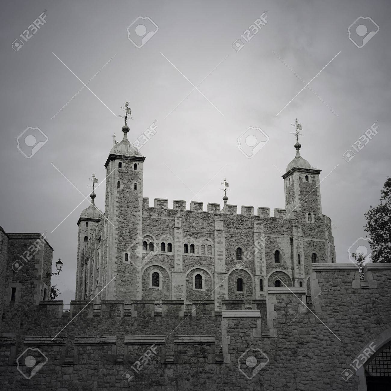 Tower of London, Her Majesty's Royal Palace and Fortress, now the castle is a popular tourist attraction. Stock Photo - 15855158