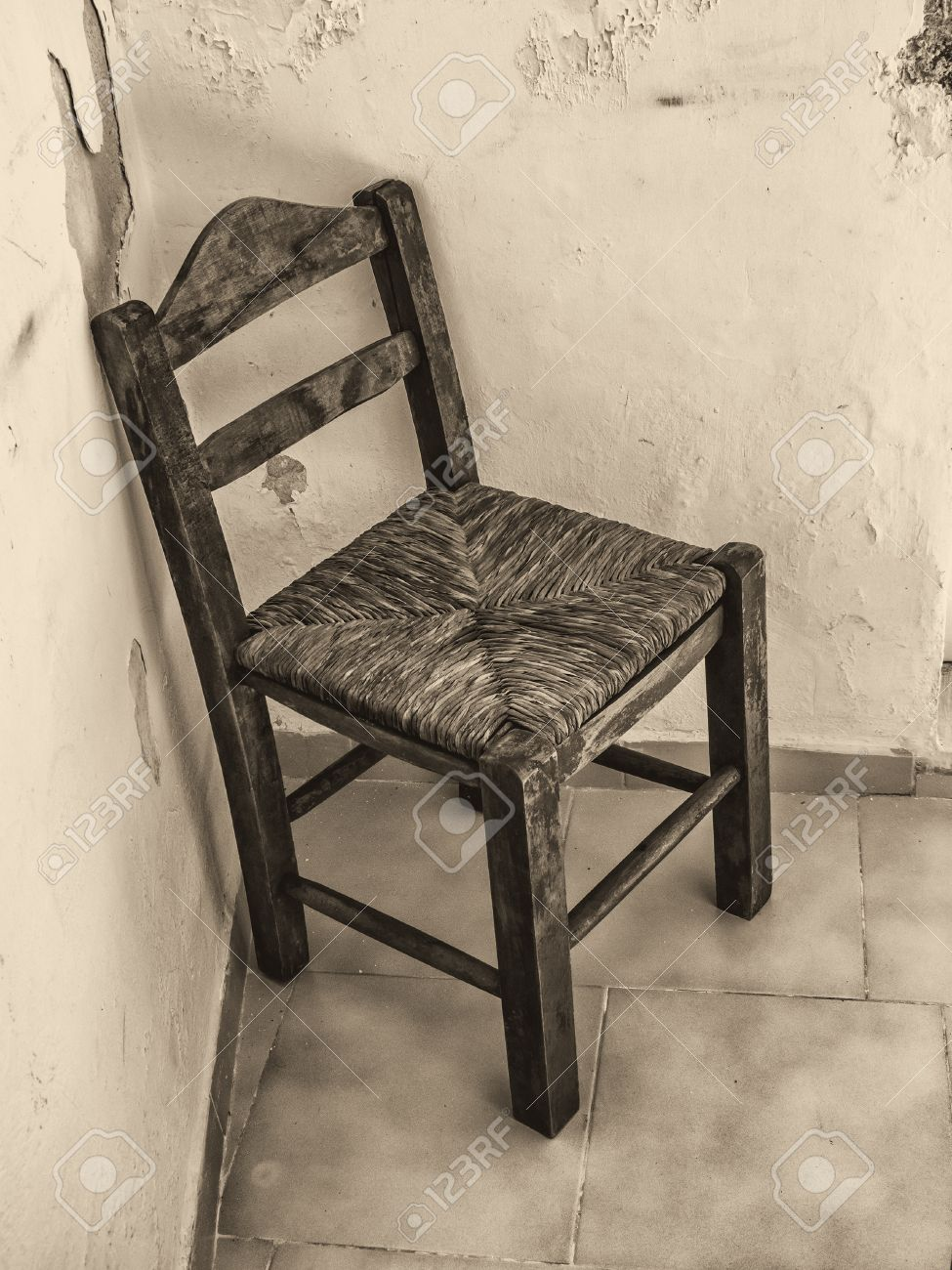 old wooden chair.  Chair Old Wooden Chair In Abandoned Room Stock Photo  64330838 With Wooden Chair