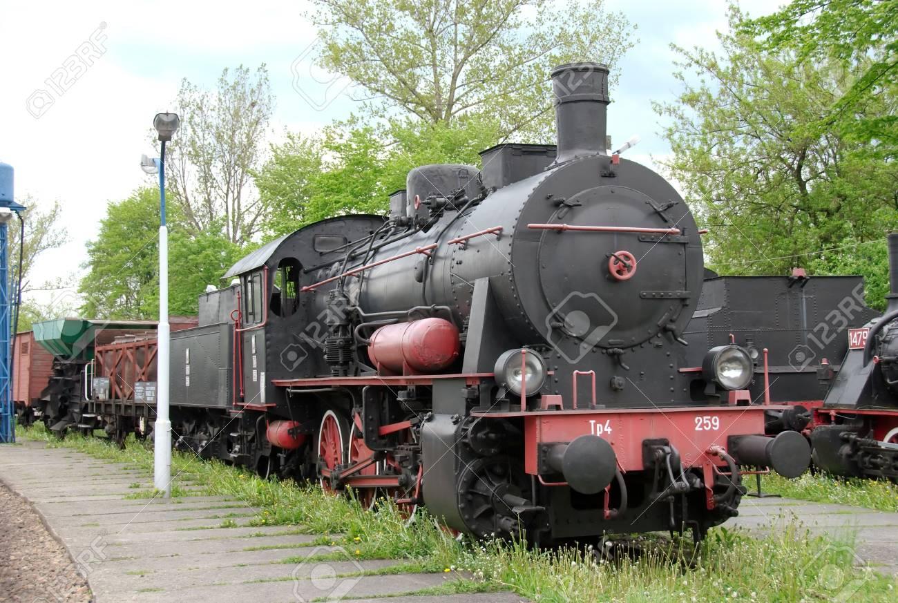 historic steam train in Poland Stock Photo - 3098003