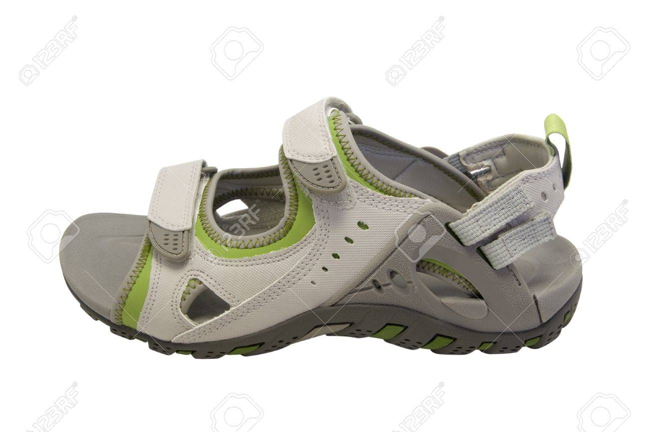 Sport sandal isolated on white background Stock Photo - 9584480