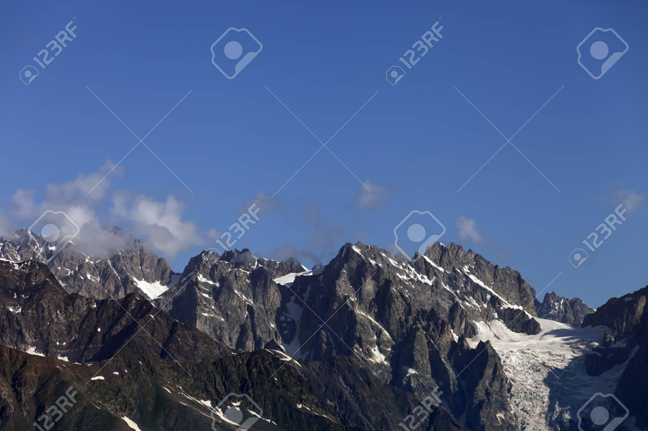 Caucasus Mountains. Georgia, Svaneti Stock Photo - 12119429