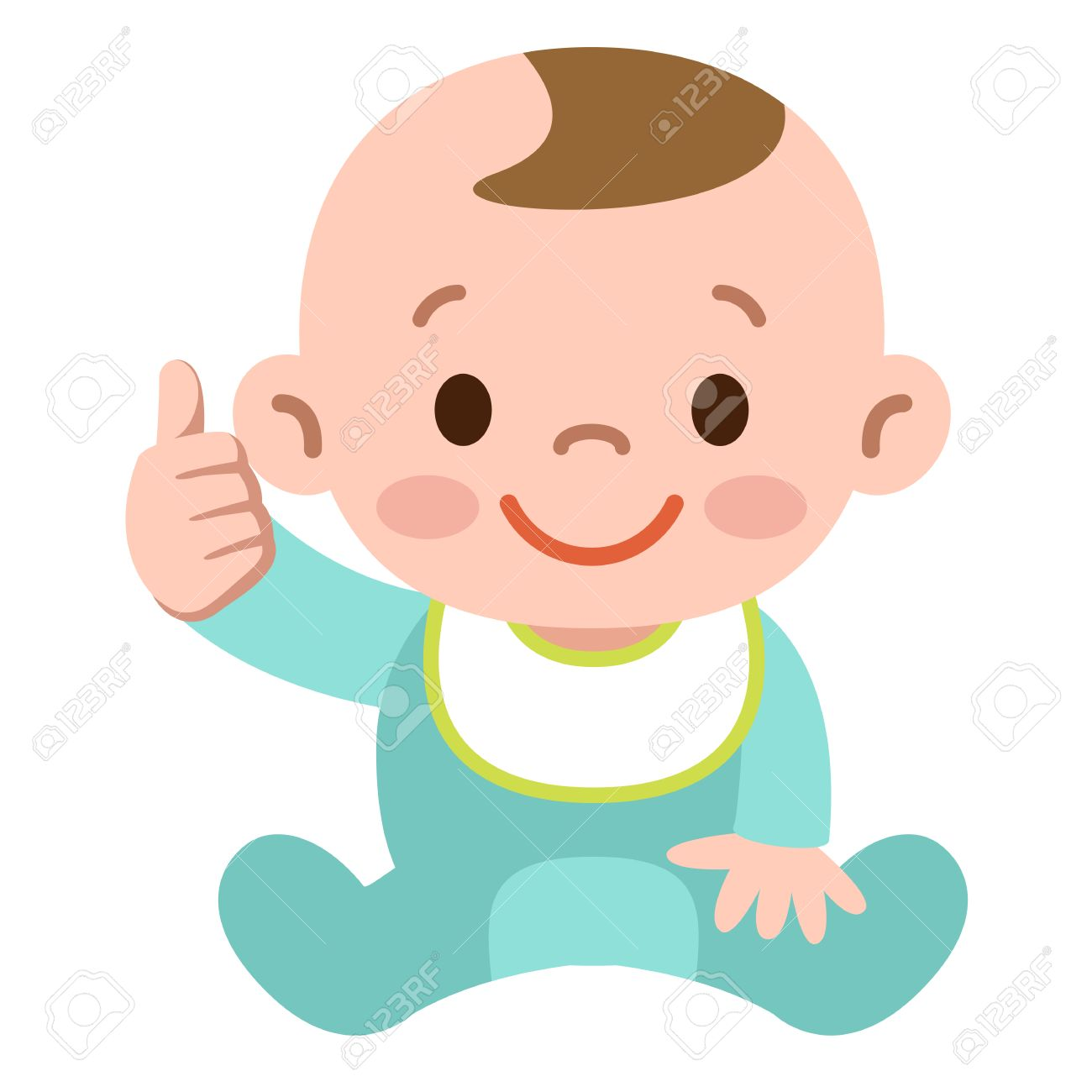 Thumbs up baby - 51337458