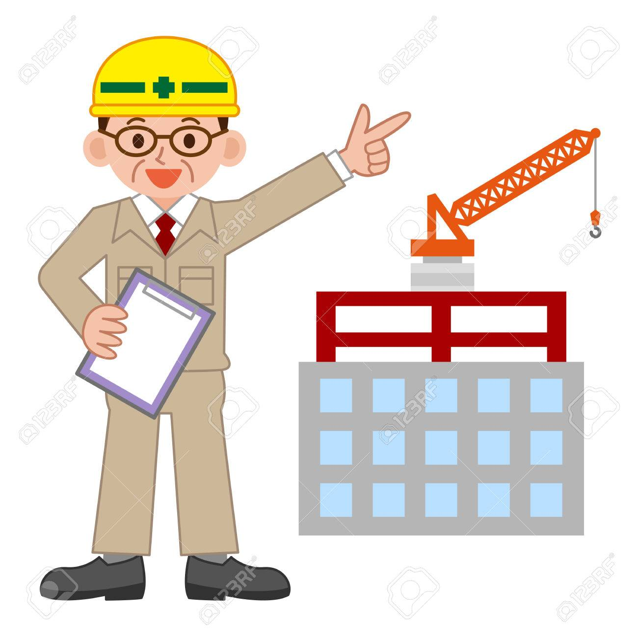 Illustration of Site supervisor - 63209341