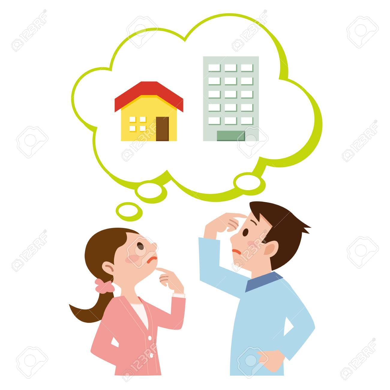 Couple who get lost in the purchase of my home - 66672887