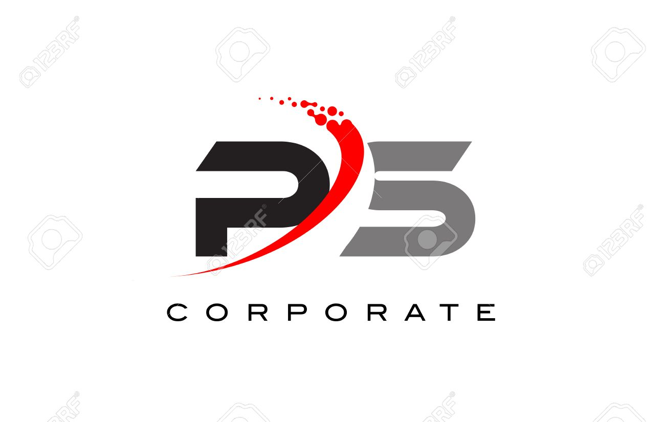 Ps modern letter logo design with red swoosh and dots royalty ps modern letter logo design with red swoosh and dots stock vector 74444322 thecheapjerseys Images