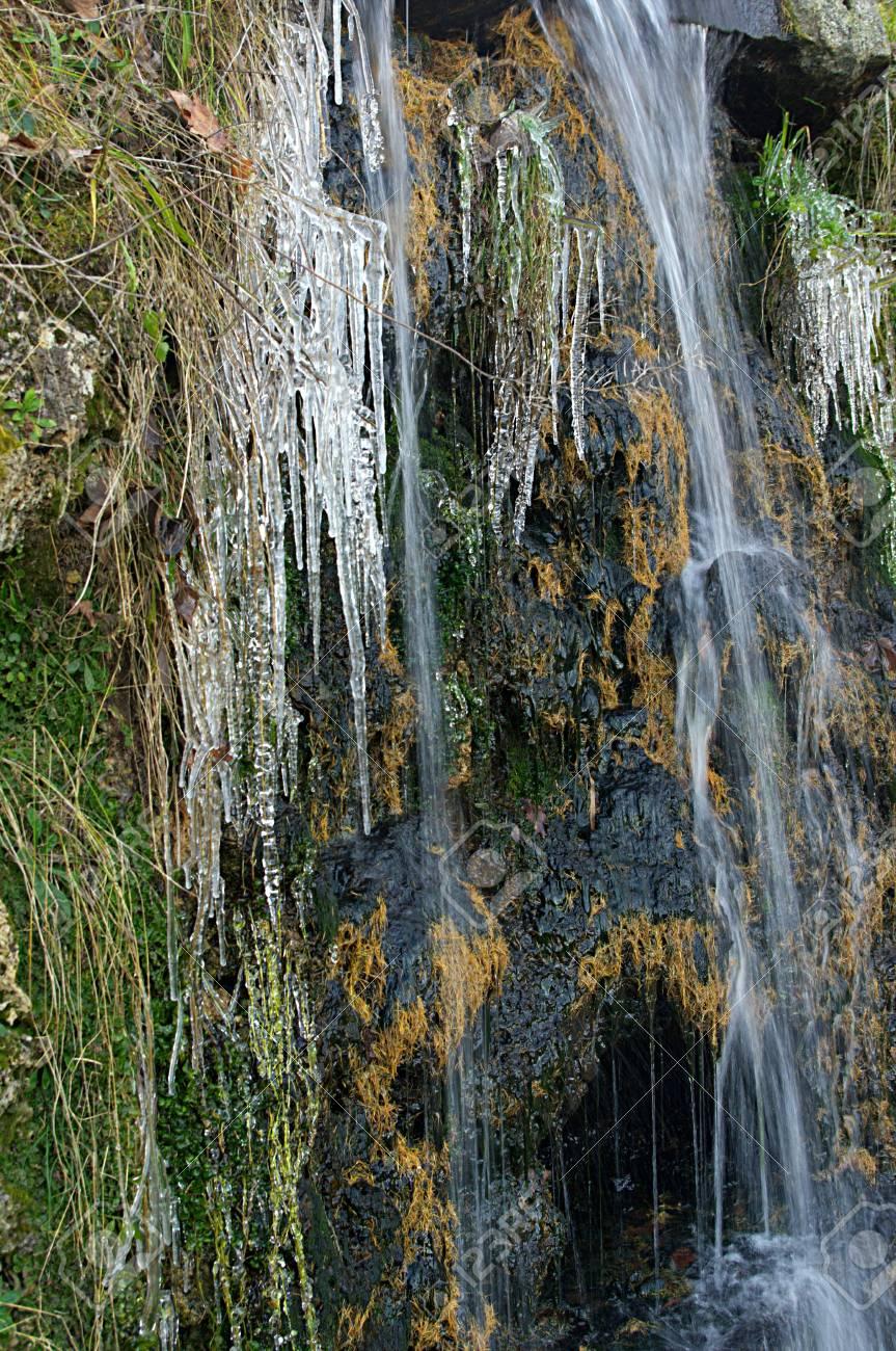 winter creek in the park Puchkin - Russia Stock Photo - 12240881