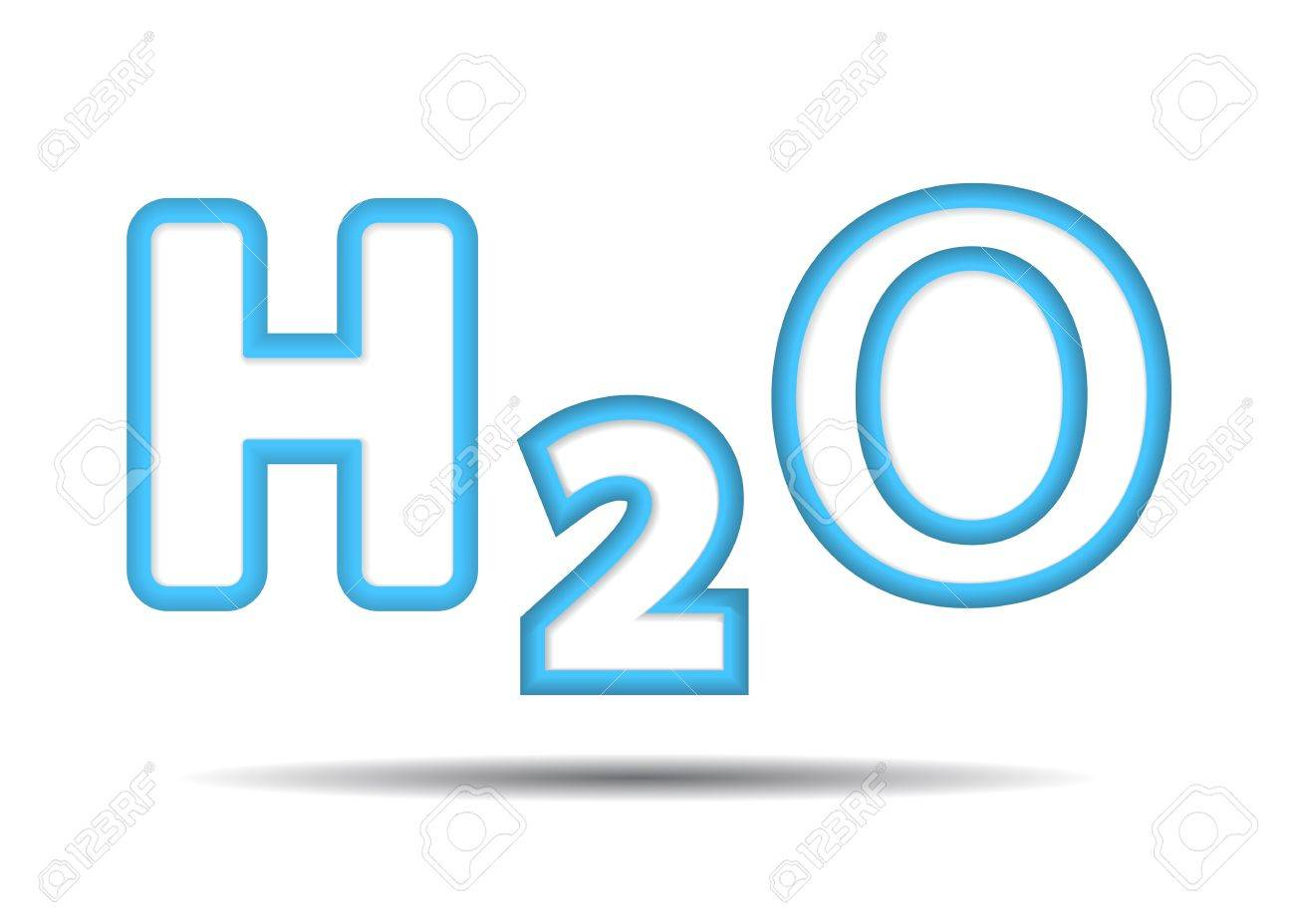 Formula of the water h2o royalty free cliparts vectors and stock formula of the water h2o stock vector 17179002 buycottarizona Choice Image