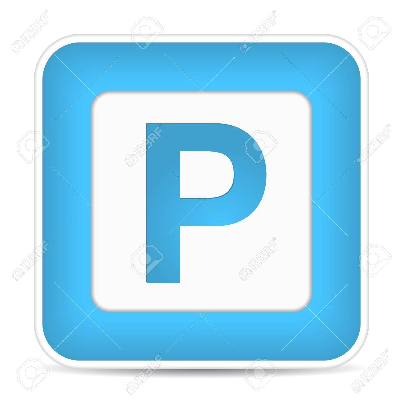 Car parking sign, illustration Stock Vector - 17885173