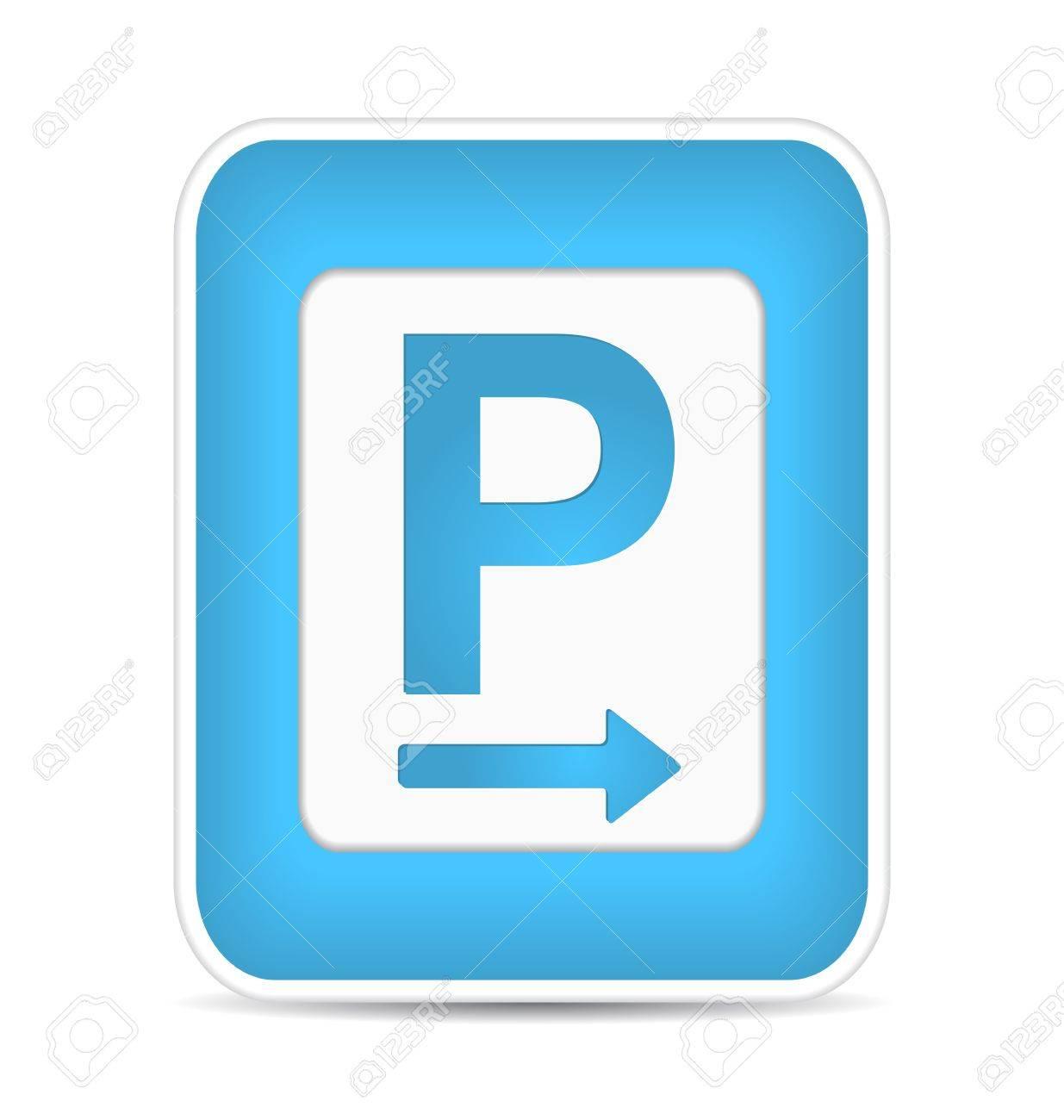 Car parking sign,  illustration Stock Vector - 17885196