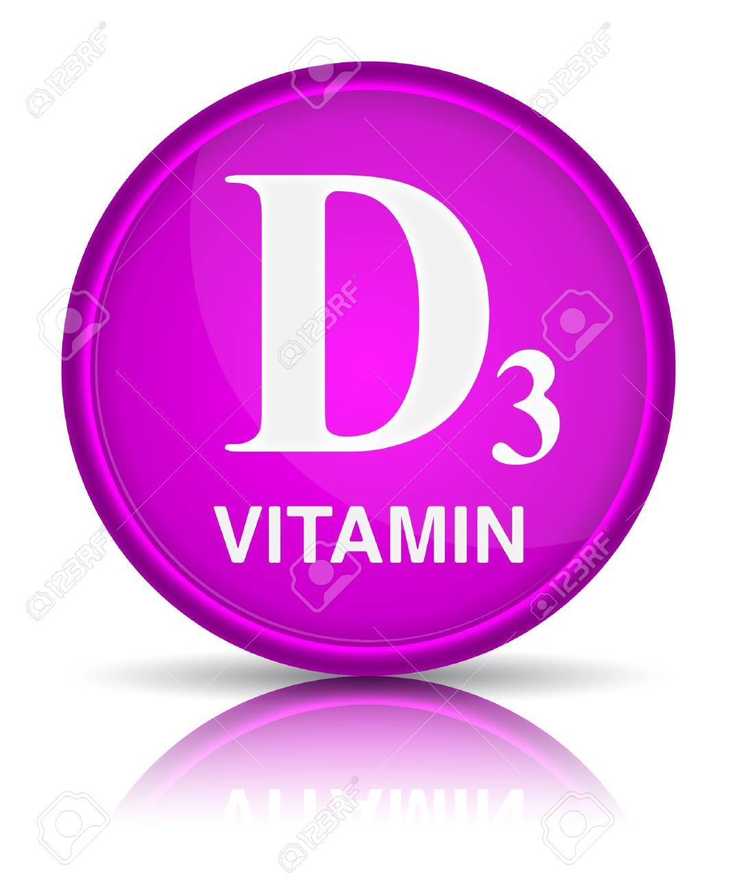 Vitamins group D3. Healthy life concept Stock Vector - 18595602