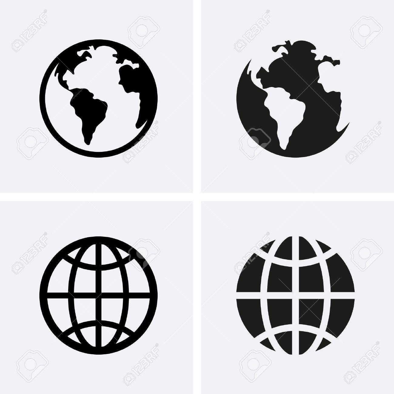 439597 world icon cliparts stock vector and royalty free world earth globe icons vector publicscrutiny Choice Image