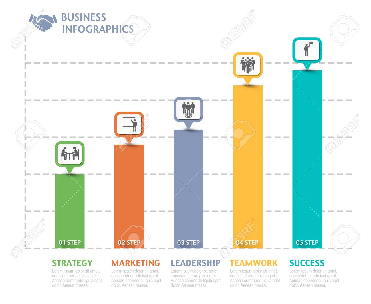 Business overview visualization graph infographic data business business overview visualization graph infographic data business template for presentation vector infographics stock wajeb Choice Image