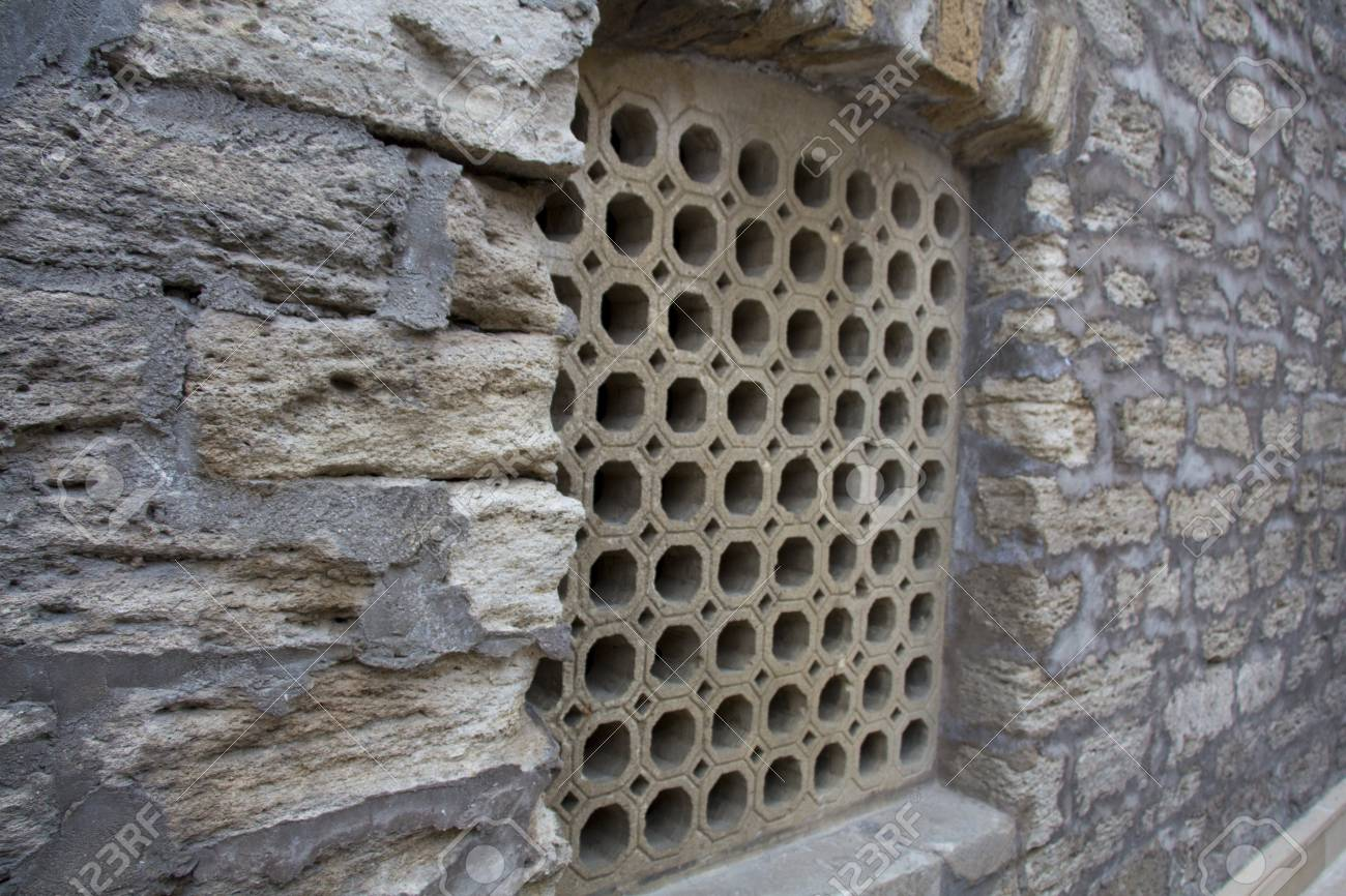 Window Grill Design Of An Old Middle Eastern Architecture Arabic