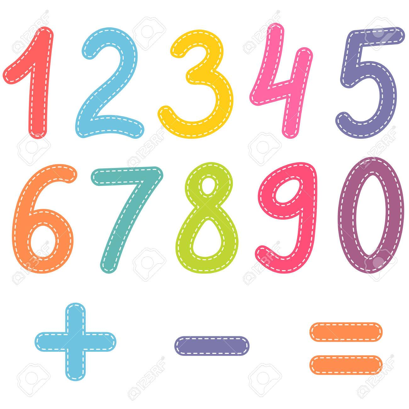 Numbers from zero to nine and math symbols royalty free cliparts numbers from zero to nine and math symbols stock vector 68188416 biocorpaavc Choice Image