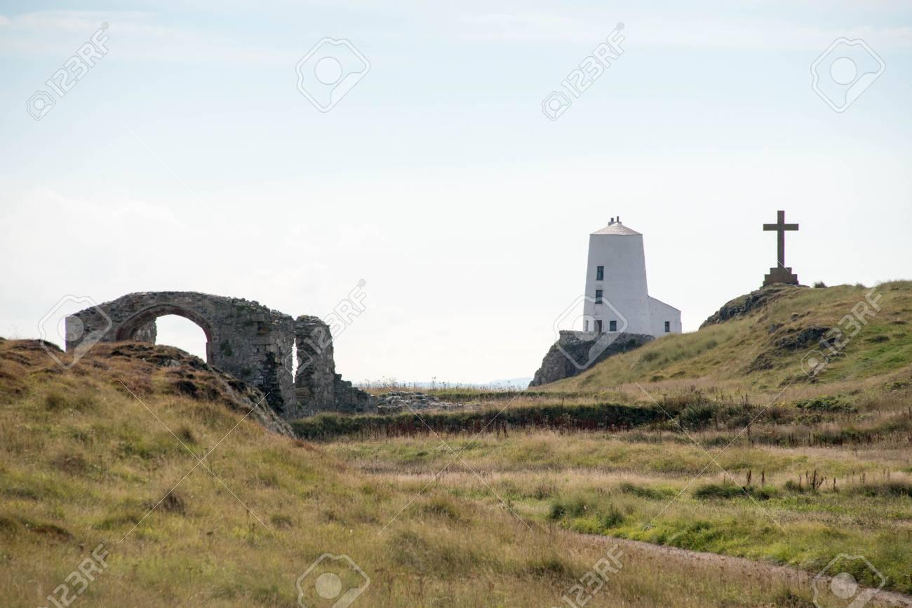 Ynys Llanddwyn、北ウェールズの...