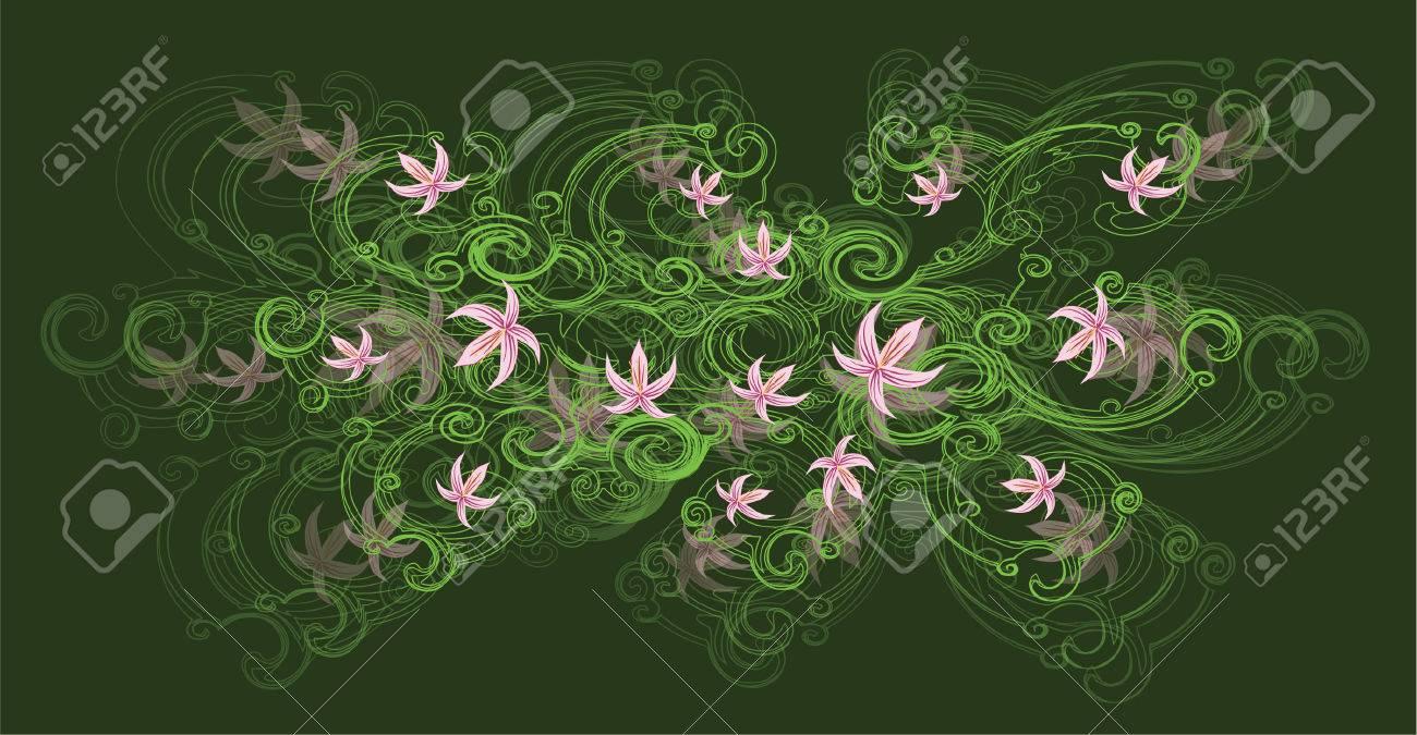Magnífico La Flor De Lis Uñas Ideas Ornamento Elaboración Festooning ...