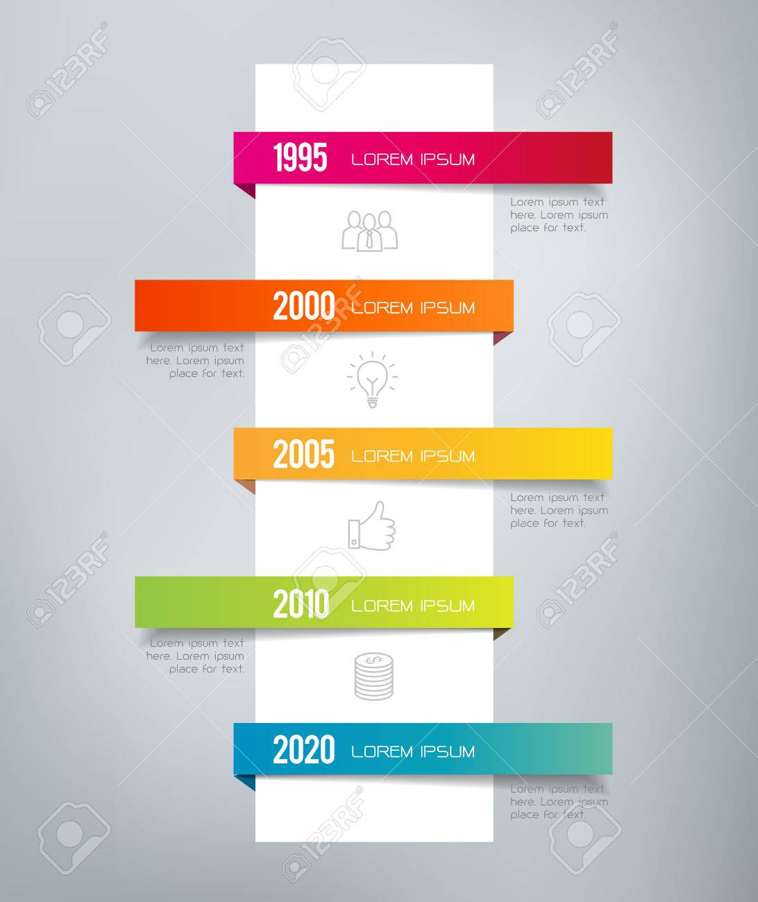 infographic timeline can illustrate a strategy a workflow