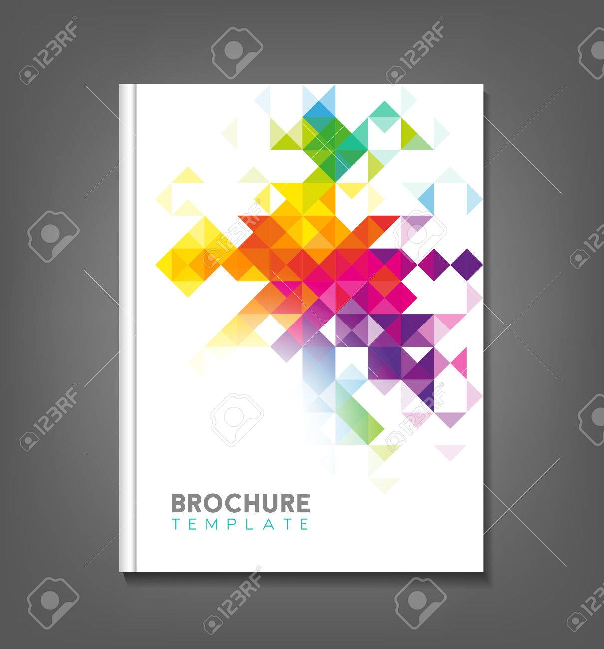 Brochure Template, Book Cover, Flyer Design Royalty Free Cliparts ...