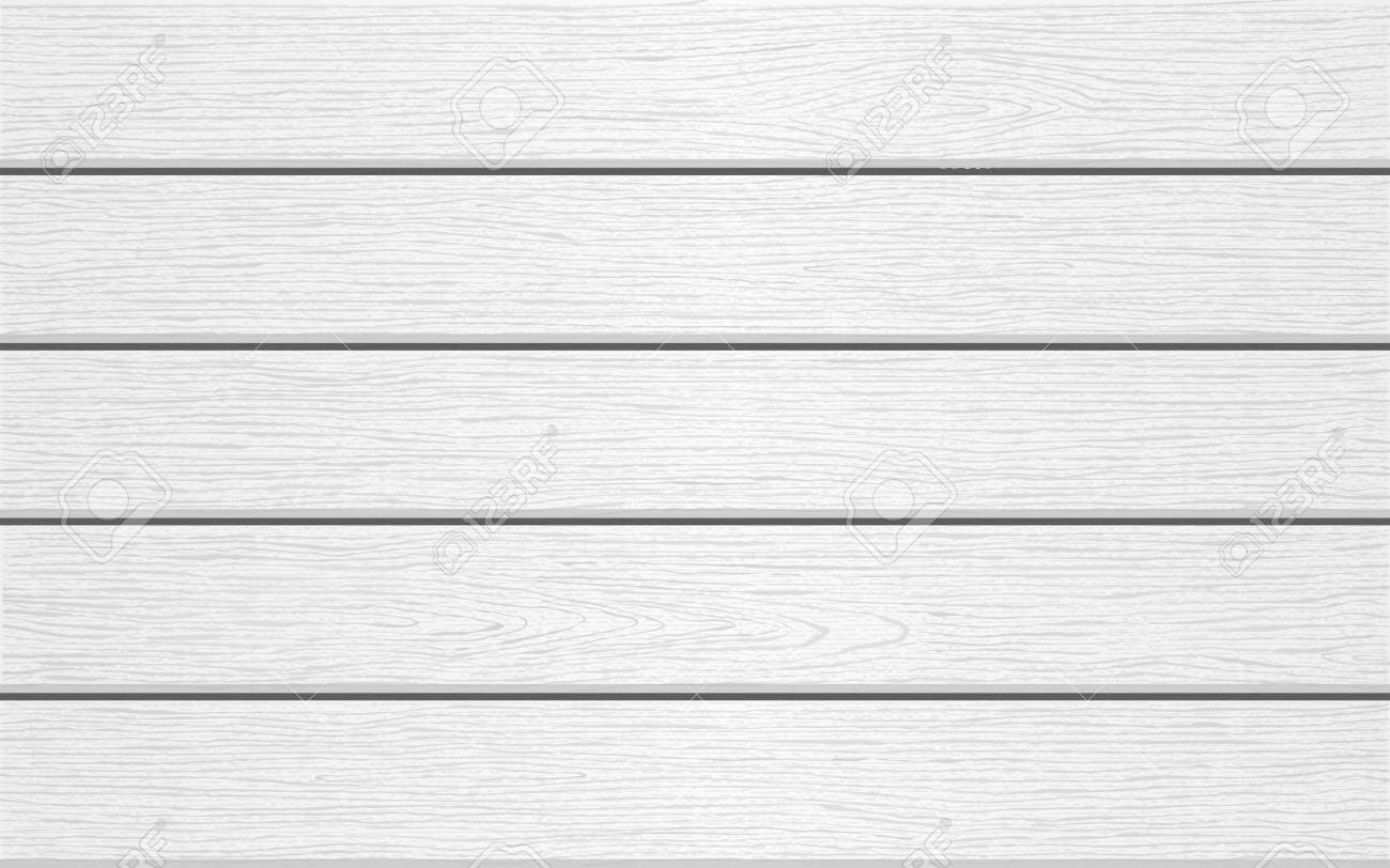 Horizontal White Wooden Background Wood Texture Vector Stock With White Wood  Background